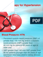 Drug Therapy for Hypertension