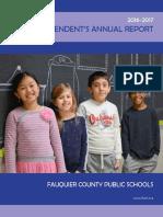 Fauquier Superintendent's Annual Report 2017