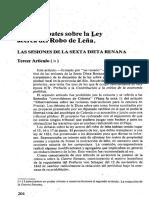 Los Debates Sobre La Ley Acerca Del Robo de Leña - MARX