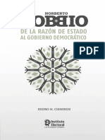 Bobbio de la razon de estado al gobierno democratico.pdf