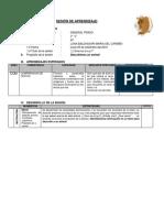 Modelo de sesion de clase comunicacion secundaria