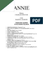 112823244 Annie Version Espanola