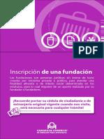 26 Inscripción de Una Fundación