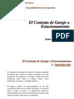 CONTRATO DE GARAJE