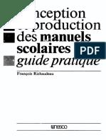 Guía práctica para la concepción y producción de manuales escolares