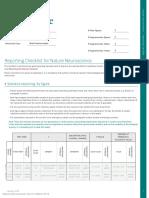 01 - Nature - Lucid-dreams - Reporting-Checklist