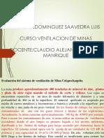 Exposicion de Ventilacion de Minas