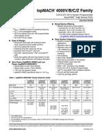 ispMACH4000VBCZFamilyDataSheet-515120