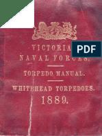 Torpedo Manual - Whitehead Torpedos (1889)