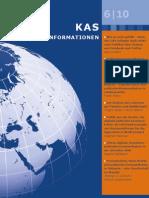 KAS Auslandsinformationen 06/2010