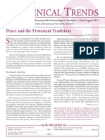 Ecumenical Trends July-August 2011