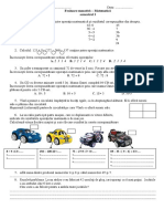 Matematicasumativ i Clasa 3