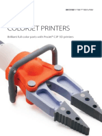 3D Systems ColorJet Printer Printers Brochure En