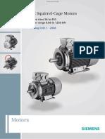 Siemens IEC Motor Catalog
