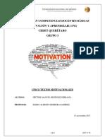 Cinco Textos Motivacionales (1)