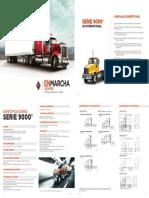 INTERNATIONAL Serie9000 Especificaciones 2017