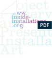 Inside Installations. Preservation and Presentation of installation Art - AAVV.pdf
