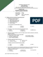 Soal UTS X Plantae Smstr 2 2015-2016