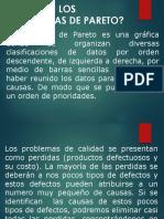 Diagramas Pareto Presentacion y Ejemplos