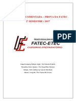 Resolução FATEC - 2017-2