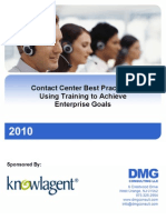 Using Training to Achieve Enterprise Goals