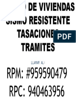 DISEÑO DE VIVIENDAS SISMO RESISTENTE-TASACIONES-TRAMITES.pptx