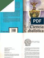 Lenain - La Ciencia Cabalistica