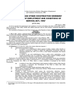 The Building and Other Construction Workers' (Regulation of Employment and Conditions of Service) Act, 1996