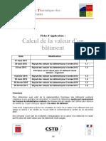 2017-02-08 FA Calcul Valeur Batiment RTexistant