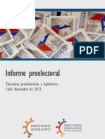 Preelectoral Chile