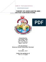 Imperative theory of John Austin