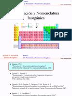 1.1.4 (1) - Formulación y Nomenclatura Inorgánica (1)