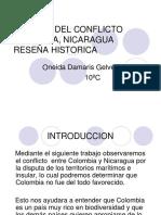 SINTESIS DEL CONFLICTO COLOMBIA, NICARAGUA RESEÑA HISTORICA.pptx