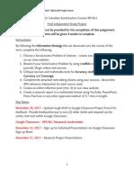 grade 12 canadian social justice course hpc4u1 assignment docx