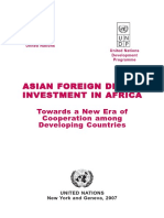 2007 UNDP Report on Asian FDI in Africa