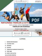 Raport Cercetare Sport Avangarde Septembrie 2014