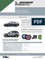Ad Update Subaru Ads255 Spanish