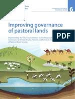 Improving governance of pastoral lands Governance of Tenure Technical Guide