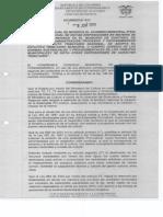 Acuerdo No 012 Modificacion Estampilla Procultura 2014
