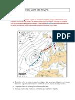 Ejercicio y Explicacin de Cmo Comentar Un Mapa Del Tiempo Resuelto