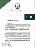 Decreto Supremo Nro 001 2015 Mincetur Reh