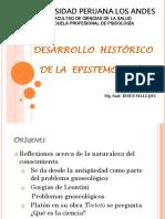 Historia de La Epistemologíaiiii