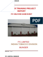 Final Itc Welfare Game Event Project