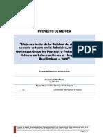 AIC 2017 Proyecto Mejora Consultorios HMA