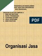 Organisasi Jasa & Multinasional