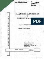 Maquinas Electricas y Transformadores I