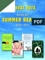 Summer Reading 2010