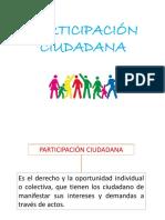 Cultura de Participación Ciudadana