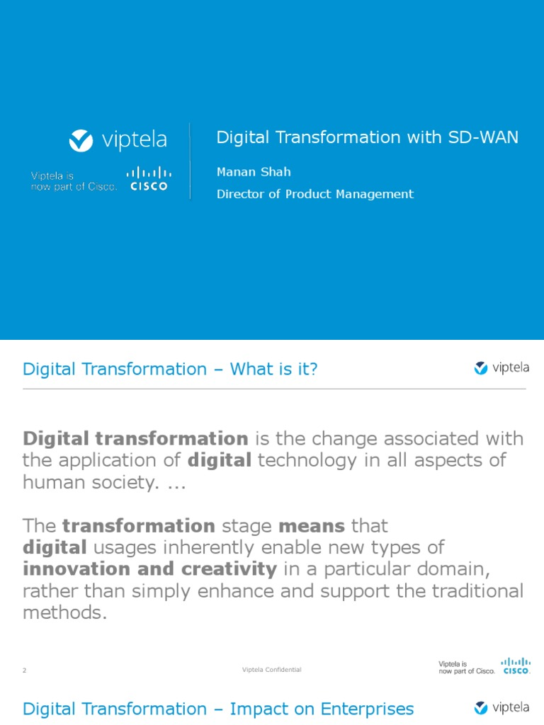 Digital Transformation Webinar | Cloud Computing