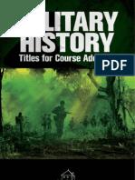 Military History Catalog